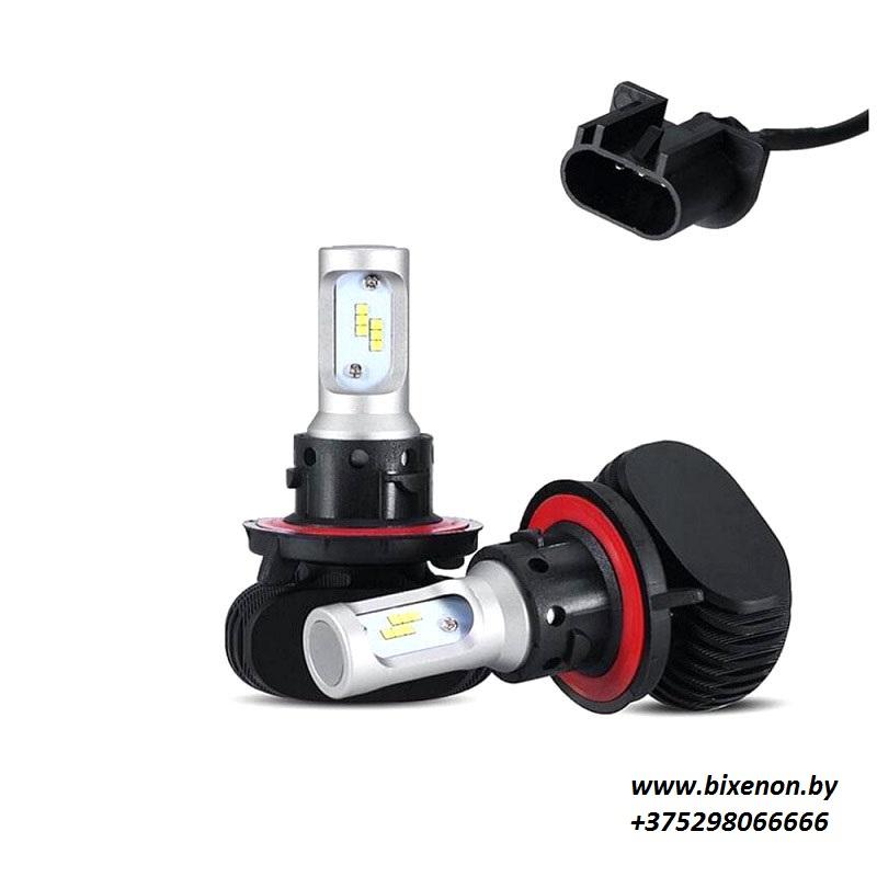 Светодиодные БИ лампы в головной свет N1 на матрице CSP Н13Bi «Philips»