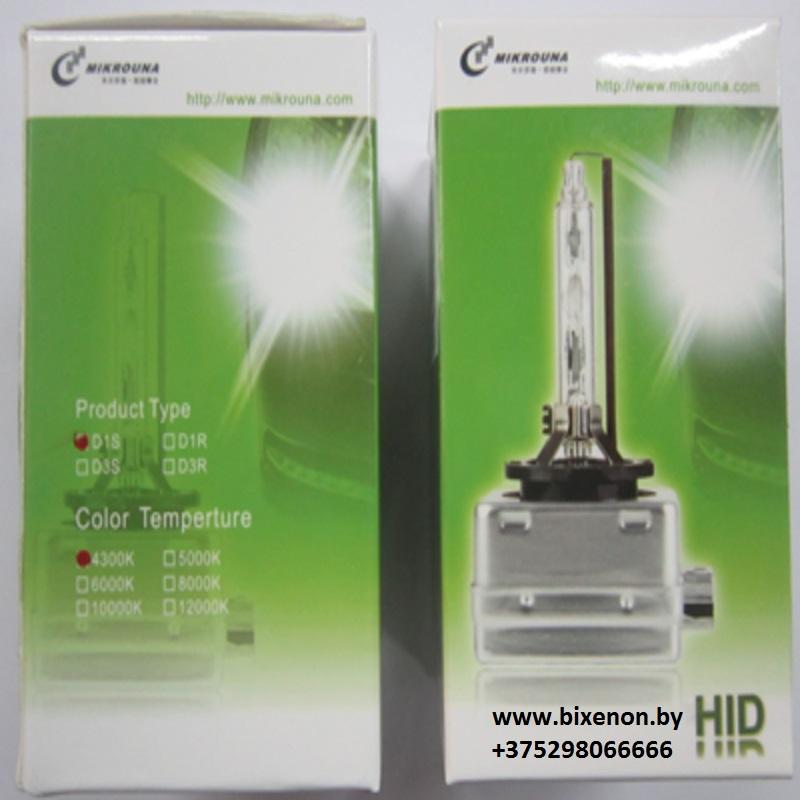 Ксеноновая лампа D1S Mikrouna Blue Glass