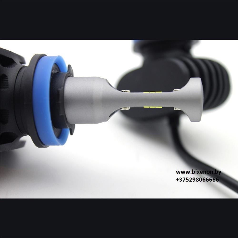 Светодиодные лампы в головной свет N1 на матрице CSP Н27 (880/881) «Philips»