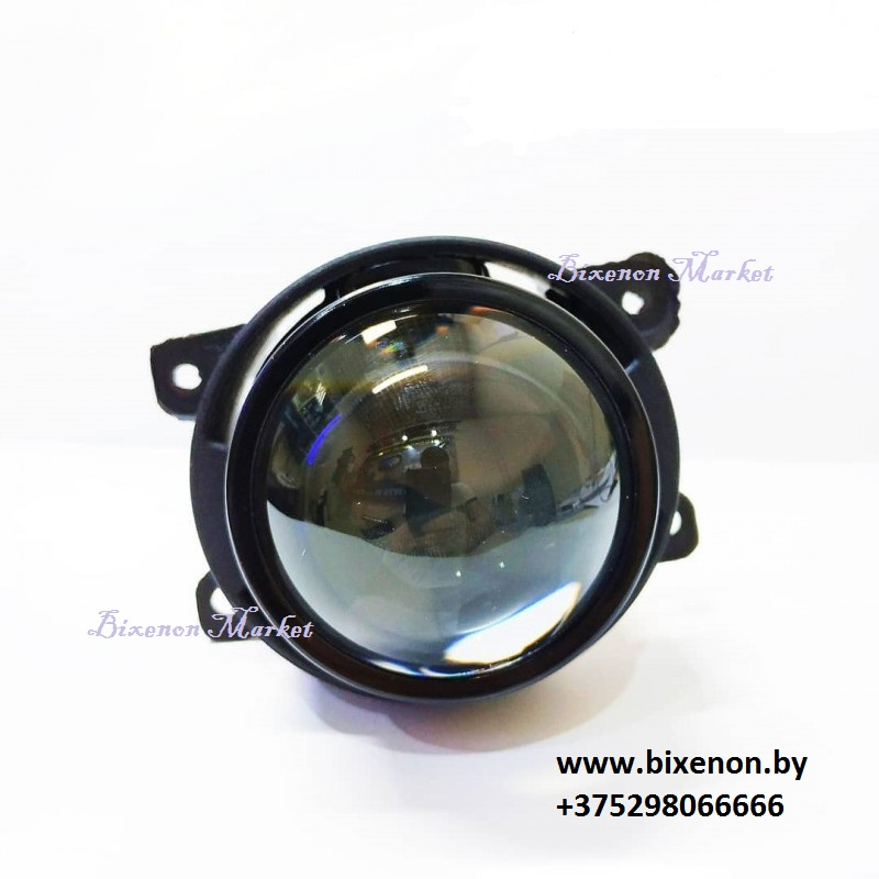 Универсальная линзованная противотуманная фара Clearlight Bi-Xenon 2,5″ KBM CL G3 BX 1
