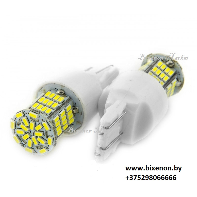 Светодиод T20/W21W 3014-78SMD CANBUS Белый