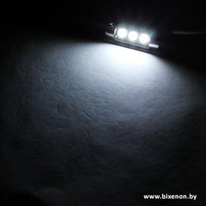 Светодиодная лампа G-SJ 3 SMD C5W с обманкой