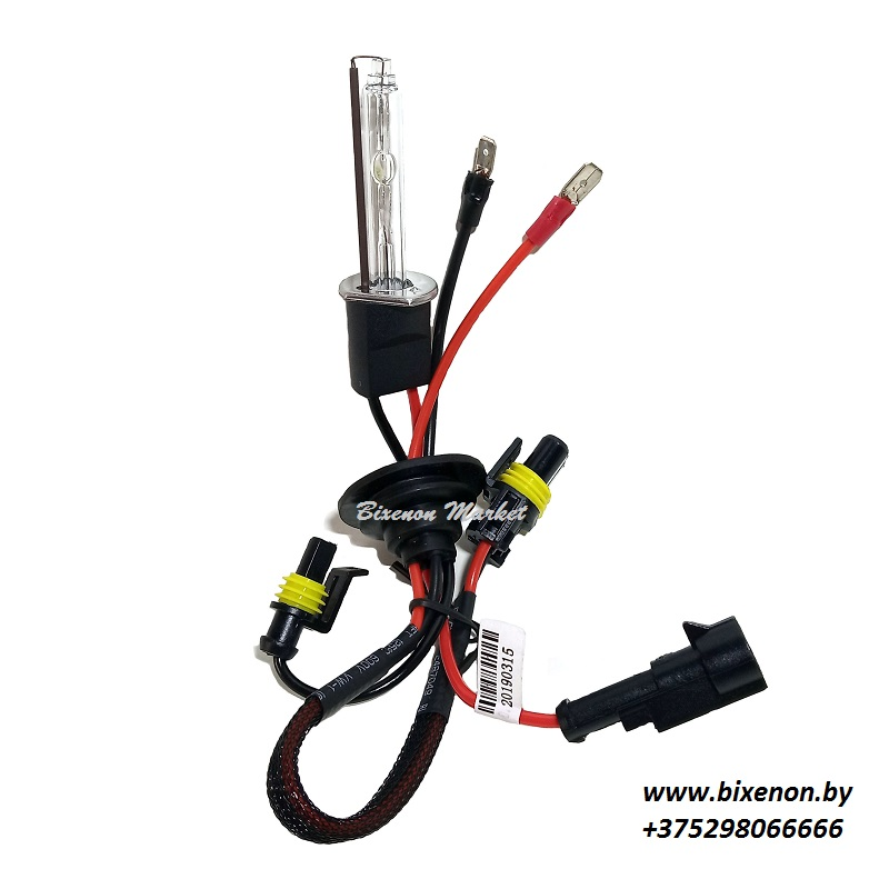 Лампа ксеноновая H1 Premium AC (AMP)