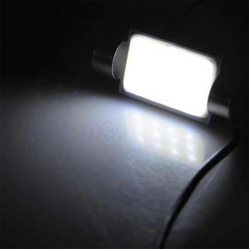 Светодиодная лампа C5W COB с обманкой