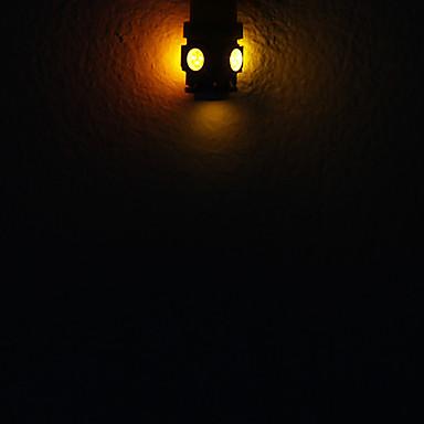 Светодиодная лампа W5W/T10 — 5P ЖЁЛТЫЕ