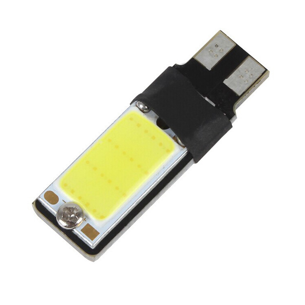 Светодиодная лампа W5W/T10 — COB с обманкой