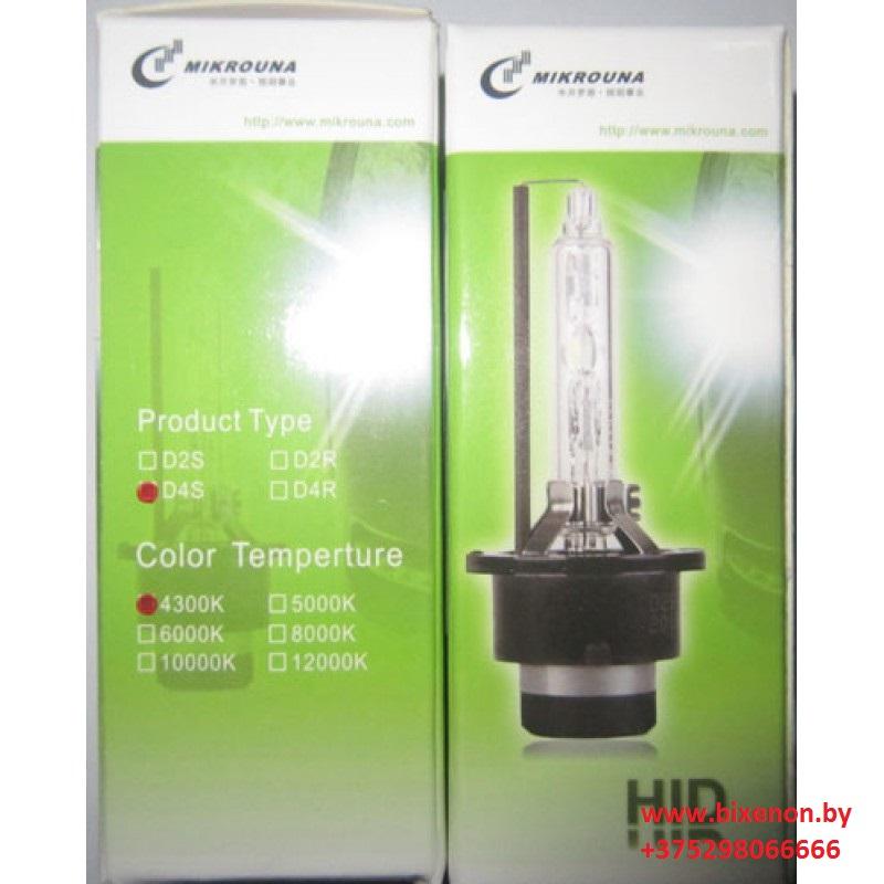 Ксеноновая лампа D4R Mikrouna Blue Glass