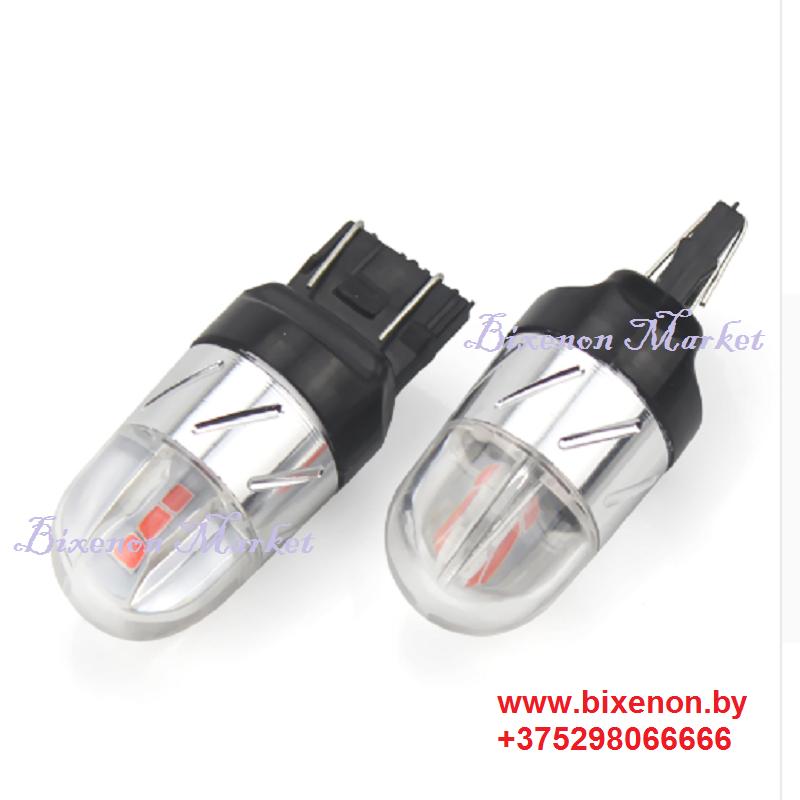 Светодиодная лампа T20/W21 6SMD-CUNBUS-HP BIPOLAR