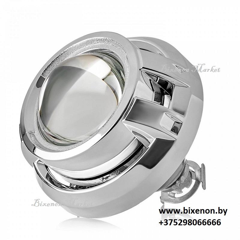 Биксеноновый модуль Clearlight серебро 3″ (KBM CL G3 TP 1)