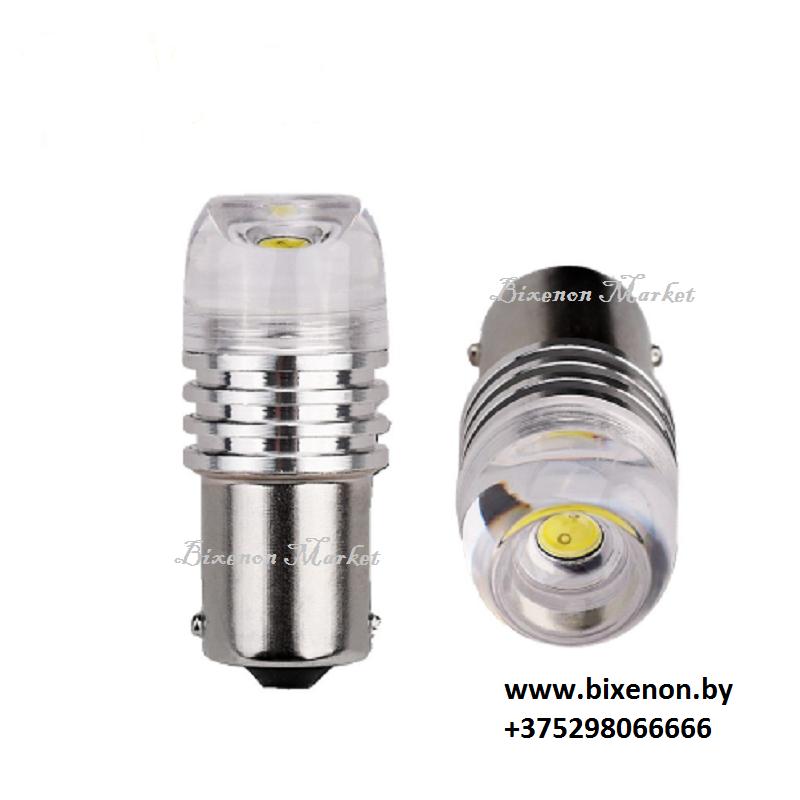 Светодиодная лампа BA15S/R10W HP-3W CONCAVE Lianz