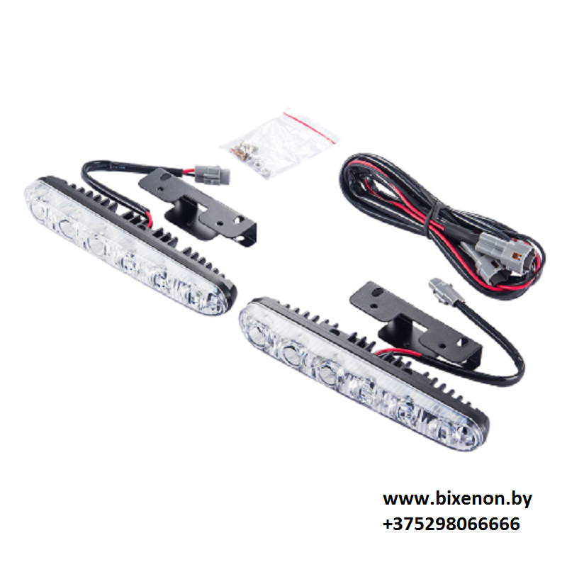 Ходовые огни Led DRL HDX-D027 (6 матриц КОМБИ)Ходовые огни Led DRL HDX-D027 (6 матриц КОМБИ)