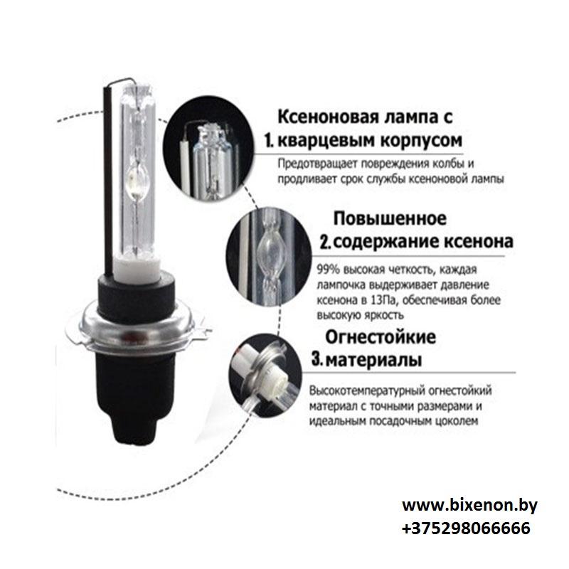 Лампа ксеноновая HB3 (9005) Premium AC (AMP)