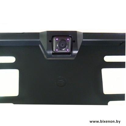 Камера заднего вида в рамке номера