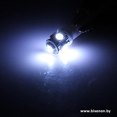 Светодиодная лампа W5W/T10 — 5P