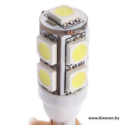 Светодиодная лампа W5W/T10 — 9P