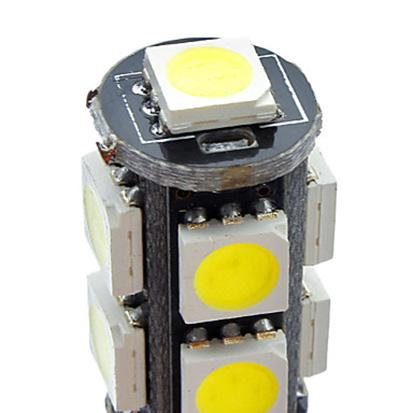 Светодиодная лампа W5W/T10 — 9P с обманкой