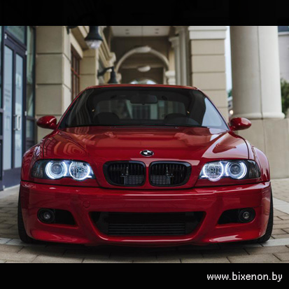 Ангельские глазки CCFL BMW E46