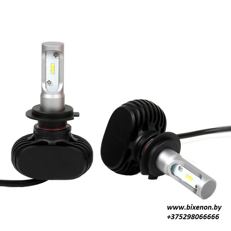 Светодиодные лампы в головной свет N1 на матрице CSP H7 «Philips»