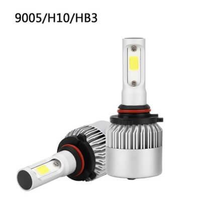 Светодиодные лампы головного света S2 с цоколем HB3(9005)