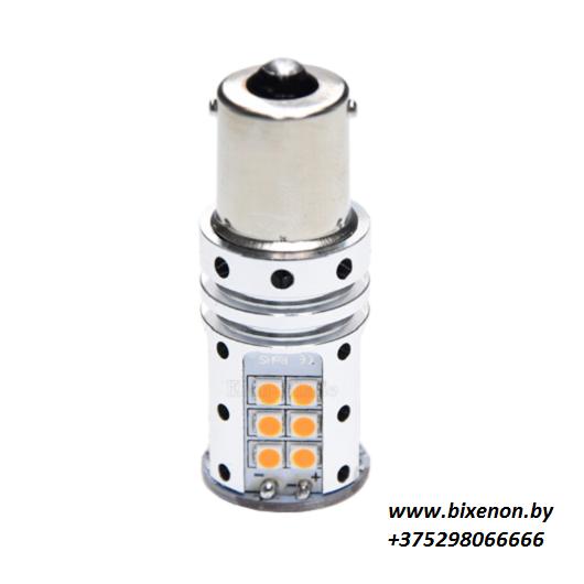 Светодиодная лампа в поворотники BA15-3030-32SMD 1к P21