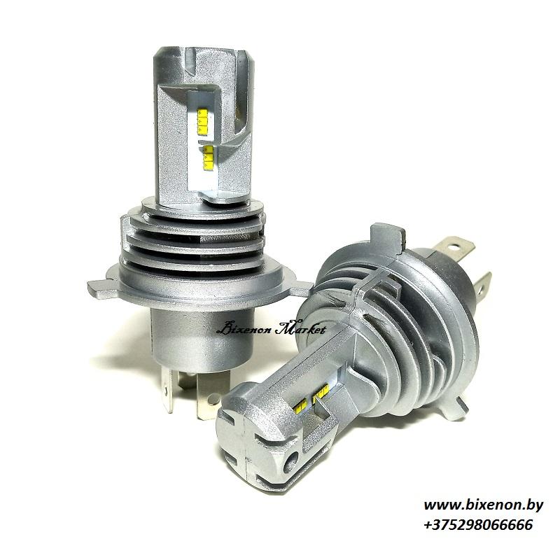 Светодиодные лампы в головной свет Н4 серии М6 PRO