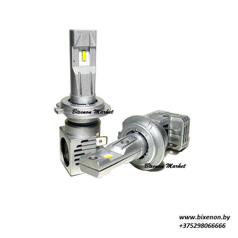 Светодиодные лампы в головной свет Н7 серии М6 PRO