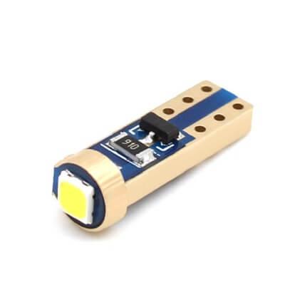 Светодиод для приборной панели T5 1Led 3030 (Белый)