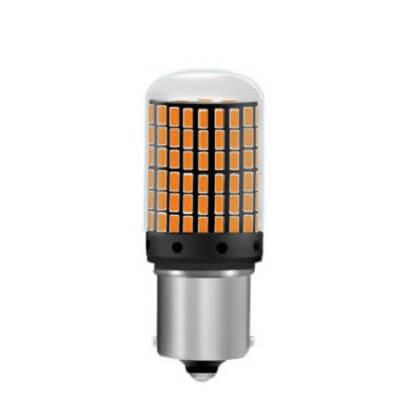 Светодиодная лампа в поворотники Ba15s/BaU15s 144SMD 1к