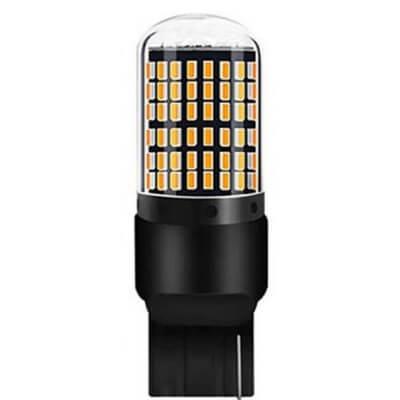 Светодиодная лампа в поворотники T20 144SMD 1к 7440
