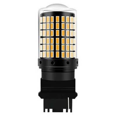 Светодиодная лампа в поворотники T25 (3156) 144SMD 1к «американцы»