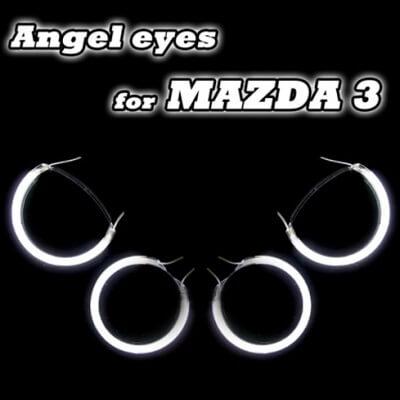 Ангельские глазки CCFL Mazda 3