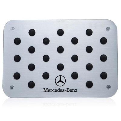 Алюминиевая накладка под ноги Mercedes