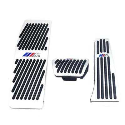 Алюминиевые накладки на педали BMW (автомат)