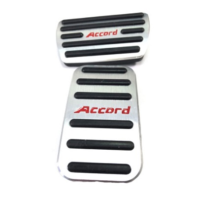Алюминиевые накладки на педали Honda Accord